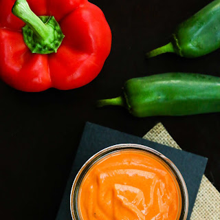 Spicy Roasted Red Bell Pepper Sauce