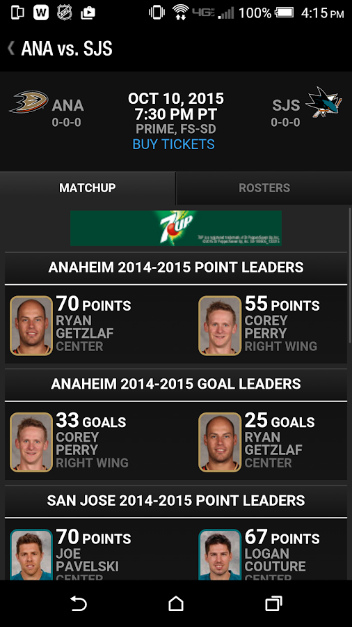 Anaheim Ducks Official App- screenshot