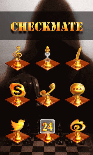Checkmate GO Launcher Theme
