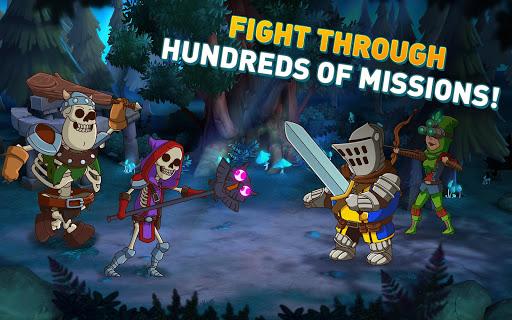 Hustle Castle: Fantasy Kingdom game (apk) free download for Android/PC/Windows screenshot