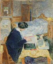 "Photo: Edouard Vuillard, ""Lucy Hessel mentre legge"" (1913)"