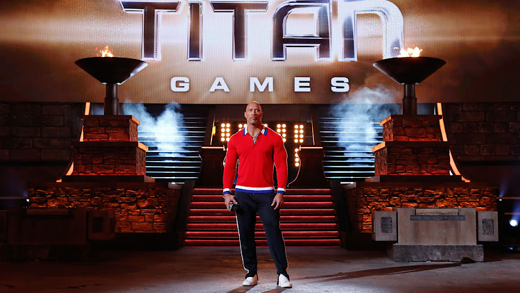 'The Titan Games' is a sports competition series hosted by The Rock.