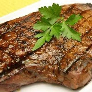Sirloin Steak with Garlic Butter.