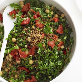 Chickpea Lentil Salad.
