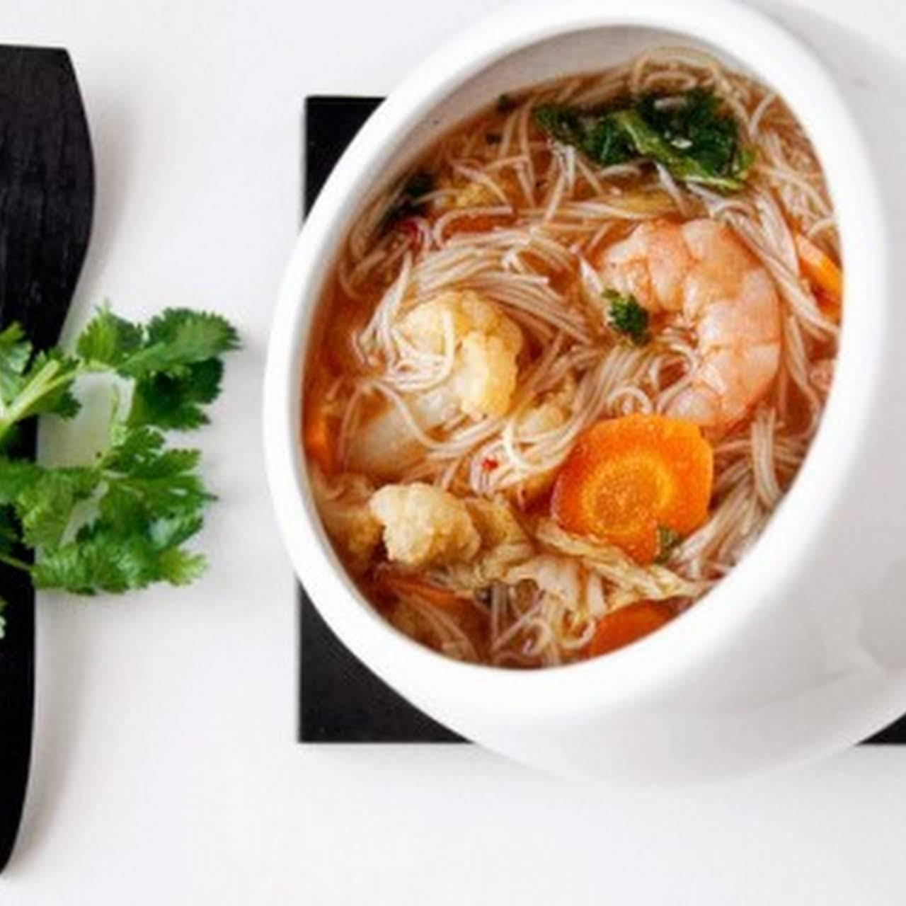 Spicy Asian Noodle Soup