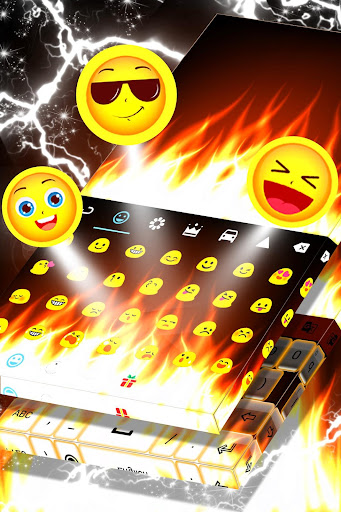 Burning Live Fire Keyboard  screenshots 5