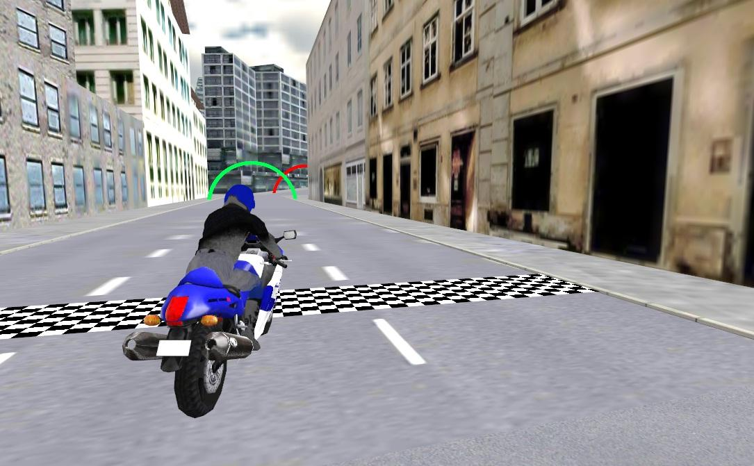 Extreme Motorbike Racing 3D- screenshot