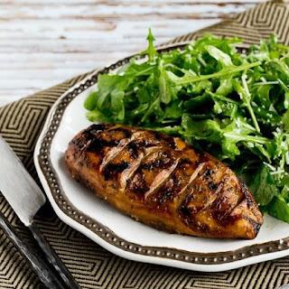 Grilled Chicken with Balsamic Vinegar.