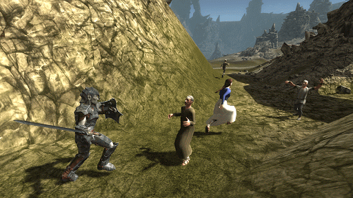Dark Elf Simulator 3D