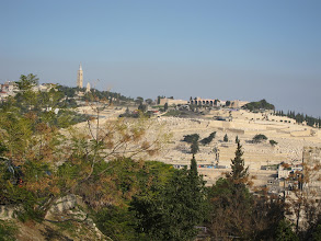 Photo: Cemeteries on the Mount of Olives