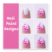 Nail Paint Design - Step by step