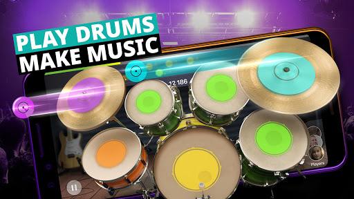 Drum Set Music Games & Drums Kit Simulator  screenshots 1