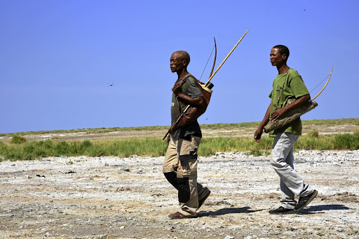 Earth readers: The Ju/'hoansi of Nyae Nyae in Namibia are the last standard-bearers of Southern Africa's hunter-gatherers, and have the legal right to hunt and gather by traditional means. Simon Sephton