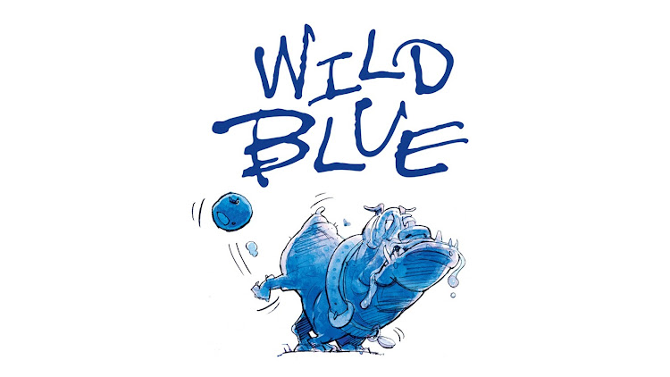 Logo of Anheuser-Busch Wild Blue Blueberry Lager