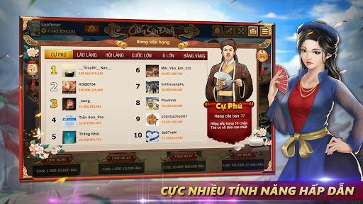 Chu1eafn Su00e2n u0110u00ecnh - Chu01a1i Chu1eafn Online modavailable screenshots 6