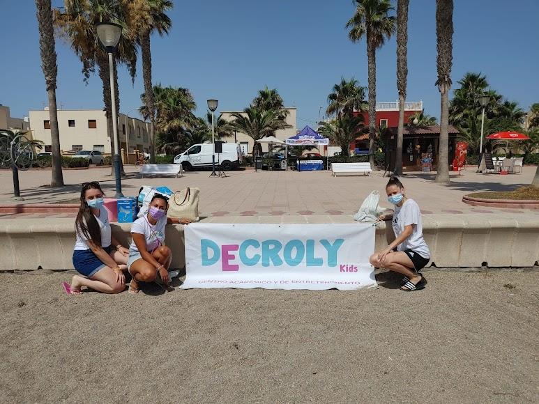 Las monitoras de Decroly Kids han preparado muchas actividades para los más pequeños