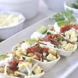 Breakfast Taco Boats Recipe