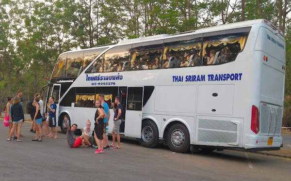 Travel from Chiang Mai to Bangkok by Coach