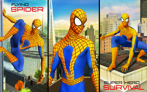 Spider Hero Transformer City Survival- screenshot thumbnail