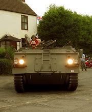 Photo: Rides on an APC