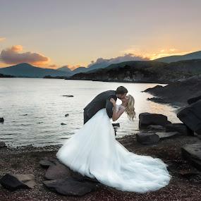 Love :) Killarney Wedding Photography  by Kaspars Sarovarcenko - Wedding Bride & Groom ( killarney wedding, limerick wedding photographer, wedding photographer, weddings ireland, irish wedding )