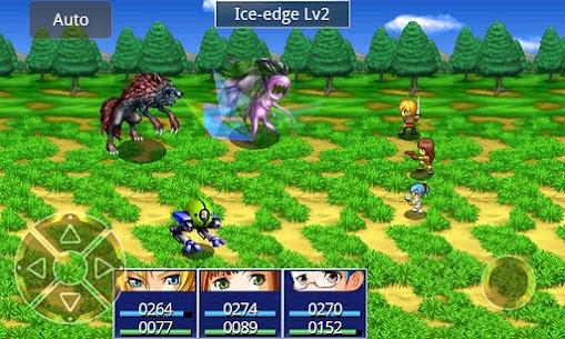 RPG Eve of the Genesis HD Apk Mod Dinheiro Infinito 4