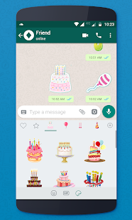 Birthday Stickers For Whatsapp Screenshot