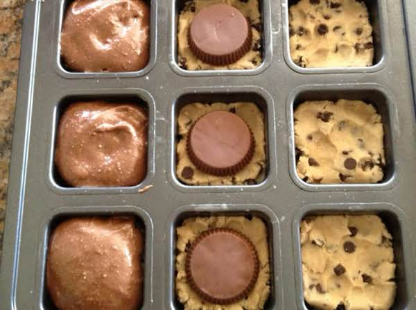 Brownie Reese's Cookies
