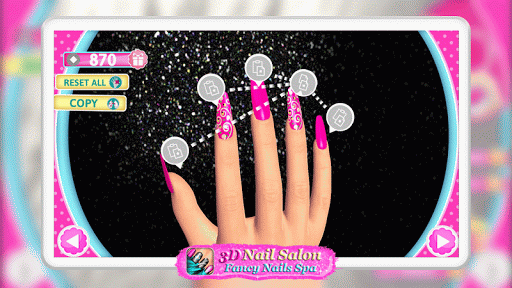 3D Nail Salon: Fancy Nails Spa