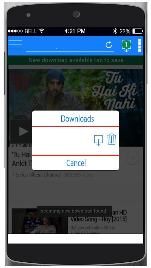 Screenshots of All Video Downloader for Android