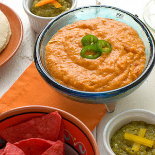 Chile con Queso & Roasted Jalapeno Salsa