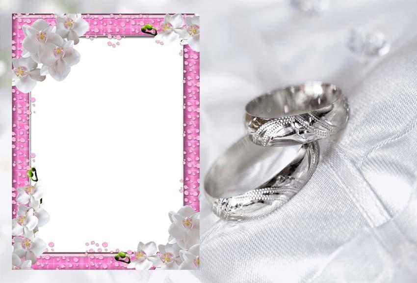 wedding photo frame editor screenshot