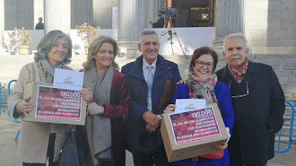 ANDAS ha presentado 130.000 firmas en el Congreso.