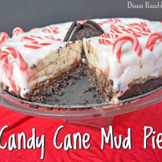 Candy Cane Mud Pie