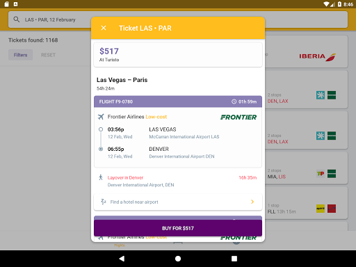 Airline Ticket Booking app screenshot 20