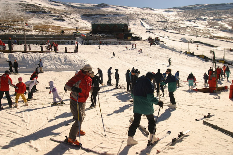 Tiffindell ski resort near Rhodes. Picture: TIFFINDELL