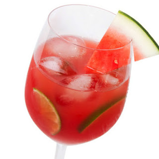 Fresh Watermelon Sangria.