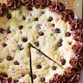 Big Frosted Cookie Cake.