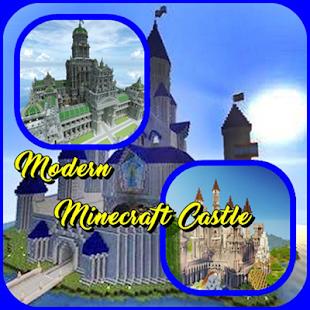 Moderní zámek Minecraft - náhled