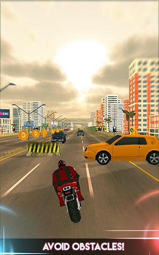 Amazing Spider 3D Hero: Moto Rider City Escape screenshot 12