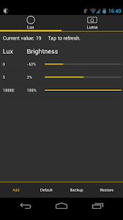 Lux Lite Screenshot