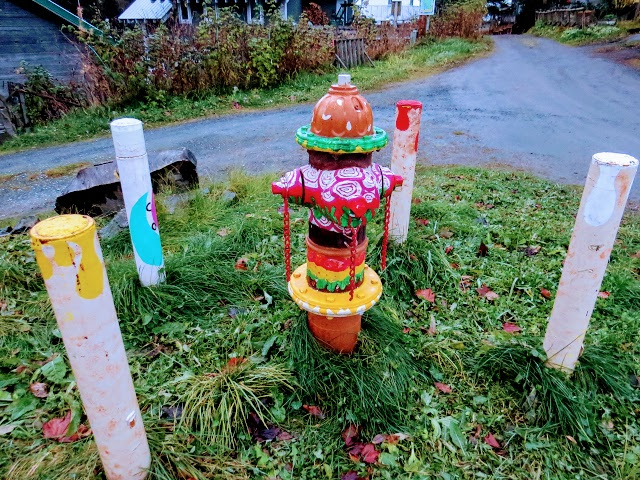 Seldovia fire hydrant