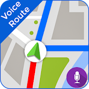 GPS Voice Driving Route Map & Navigation Alarm