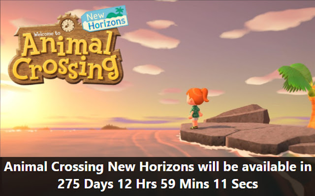 Animal Crossing Countdown Timer