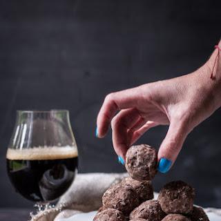 No Bake Pretzel and Bourbon Beer Balls Recipe