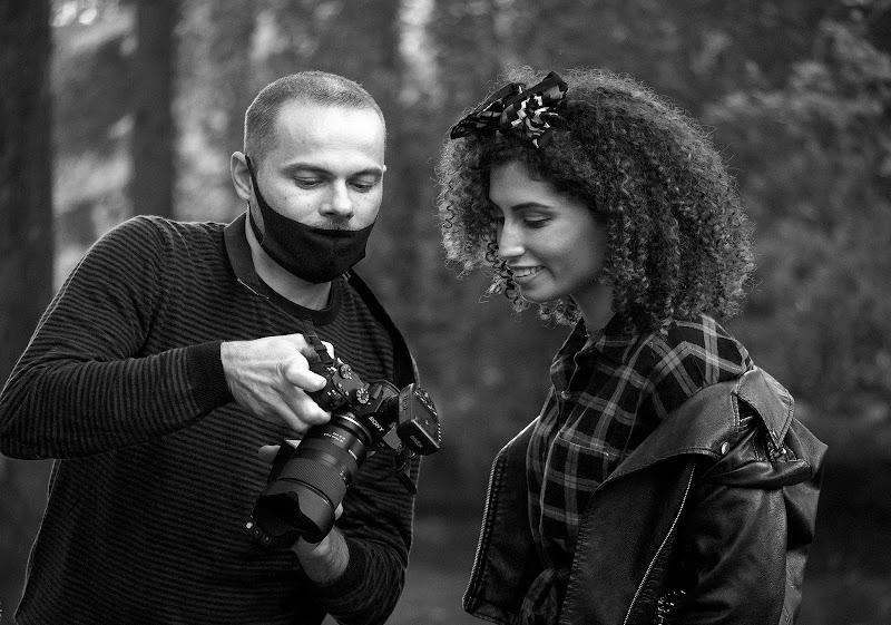 Il fotografo e la modella ai tempi del Covid di alagnol