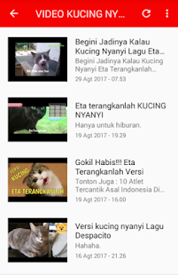 Video Kucing Lucu Ngakak Abis - náhled