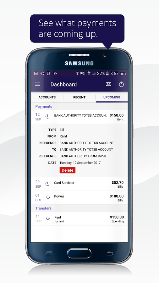 TSB Bank Mobile Banking- screenshot