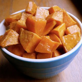 Honey-Roasted Sweet Potatoes.