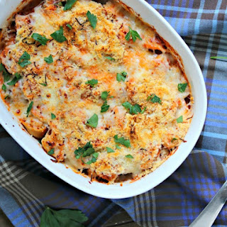 Easy Spinach Tortellini Bake